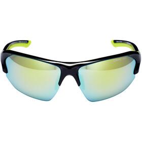 Alpina Lyron HR Okulary rowerowe, czarny/żółty